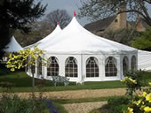 Marquee hire at Norton Conyers